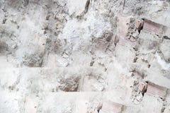 Abstrakt bild av tegelstenar med den vita tangenten royaltyfria bilder