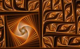 Abstrakt bild för fractaltexturdator-genegated Royaltyfria Bilder