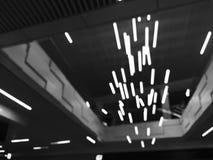 abstrakt bild med lampor Fotografering för Bildbyråer