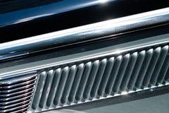 Abstrakt bildesigndetalj - closeupen för begreppsbakgrundsstål - Royaltyfria Bilder