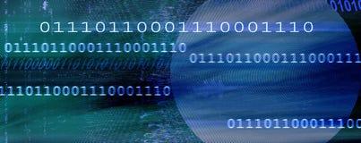 Abstrakt binär bakgrund Arkivfoton