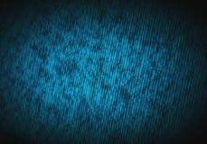 Abstrakt binär kod på datorskärmen som teknologibakgrund royaltyfria foton