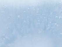 abstrakt blå is Fotografering för Bildbyråer