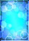 Abstrakt blå bakgrund Fotografering för Bildbyråer