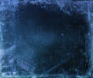 Abstrakt blå bakgrund Arkivfoto