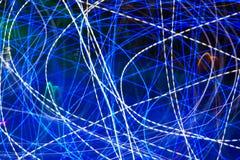 Abstrakt blå bakgrund Royaltyfri Foto