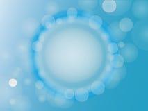 Abstrakt blå bakgrund Arkivbilder