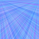Abstrakt blå bakgrund av radiella strålar Arkivbild
