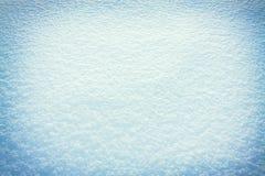 Abstrakt blå bakgrund av snö Fotografering för Bildbyråer