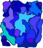Abstrakt blå bakgrund för affär färgöversikt och grafisk design i illustration wallpaper royaltyfri illustrationer