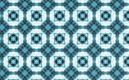 Abstrakt blå bakgrund för prickmodell royaltyfri illustrationer
