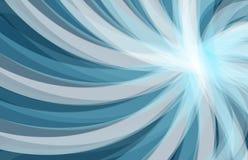 Abstrakt blå bakgrund, våg Royaltyfri Foto