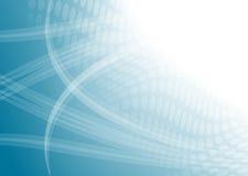 abstrakt blå digital lampa Arkivbild
