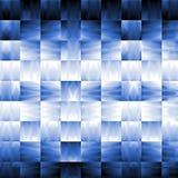 abstrakt blå effektlampa Fotografering för Bildbyråer