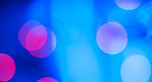 Abstrakt blå glamourbakgrund Royaltyfri Fotografi