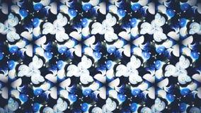 Abstrakt blå grön vit svart färgtapet arkivfoto