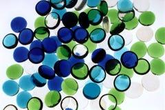 abstrakt blå green Arkivbilder