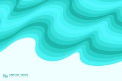 Abstrakt blå krabb bakgrund för garnering för havsmodelldesign Illustrationvektor eps10 royaltyfri illustrationer