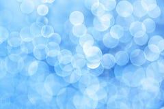 abstrakt blå lampa royaltyfria bilder