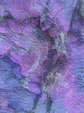 Abstrakt blå lila garnering, textur, bakgrund Arkivfoton