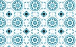 Abstrakt blå lyxig cirkelmodellbakgrund royaltyfri illustrationer