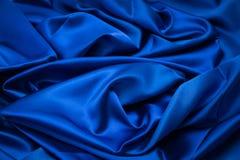 Abstrakt blå lyxig torkduk Fotografering för Bildbyråer