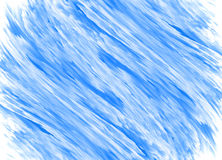 Abstrakt blå målningbakgrund Royaltyfri Bild