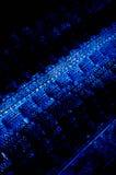 abstrakt blå modell Royaltyfri Bild