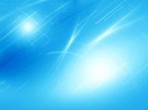 Abstrakt blå neondiagrambakgrund stock illustrationer