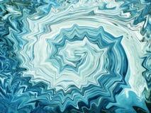 abstrakt blå punkt Royaltyfria Bilder