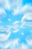 abstrakt blå sky Arkivfoton