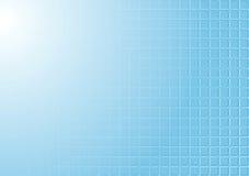 Abstrakt blå teckning för techfyrkanttextur Royaltyfri Foto