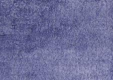 Abstrakt blå textilhandduktextur Royaltyfri Fotografi