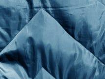 Abstrakt blå torkduketextur Royaltyfria Bilder