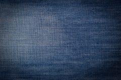 Abstrakt blå tygbakgrund Fotografering för Bildbyråer