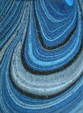abstrakt blå wave Royaltyfri Fotografi