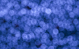 abstrakt blåa lampor Royaltyfri Foto