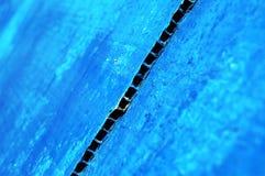 abstrakt blått diagram Royaltyfri Bild