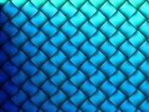 abstrakt blått galler Royaltyfri Fotografi