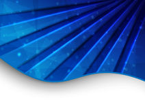 abstrakt blått kort Arkivfoton