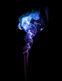 Abstrakt blått- och lilarök Royaltyfria Bilder