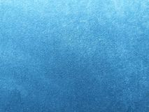 Abstrakt blått slut för sammettexturbakgrund upp arkivbild