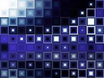 Abstrakt blått tänder arkivbilder