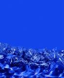 abstrakt blått vatten Arkivbild