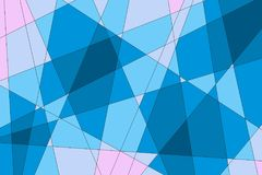 Abstrakt blåttbakgrund Arkivbilder
