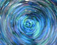 Abstrakt blåttbakgrund Royaltyfri Fotografi
