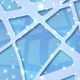 Abstrakt blåttbakgrund Arkivfoton