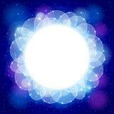 Abstrakt blåttbakgrund Royaltyfri Bild