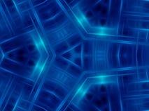 Abstrakt blåttbakgrund Royaltyfria Bilder