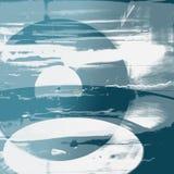 Abstrakt blåttbakgrund Arkivbild